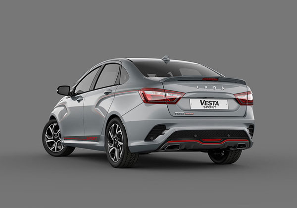 Лада Веста Спорт Lada Vesta Sport - обзор авто технические характеристики цена когда старт продаж фото