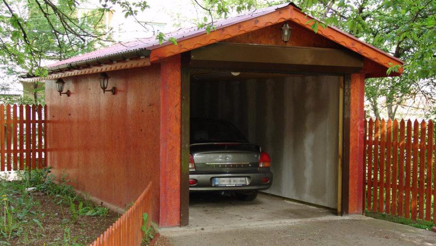 Придомовый гараж