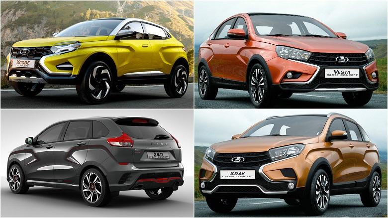 Новые модели автомобилей ВАЗа, которые выпускаются прямо сейчас