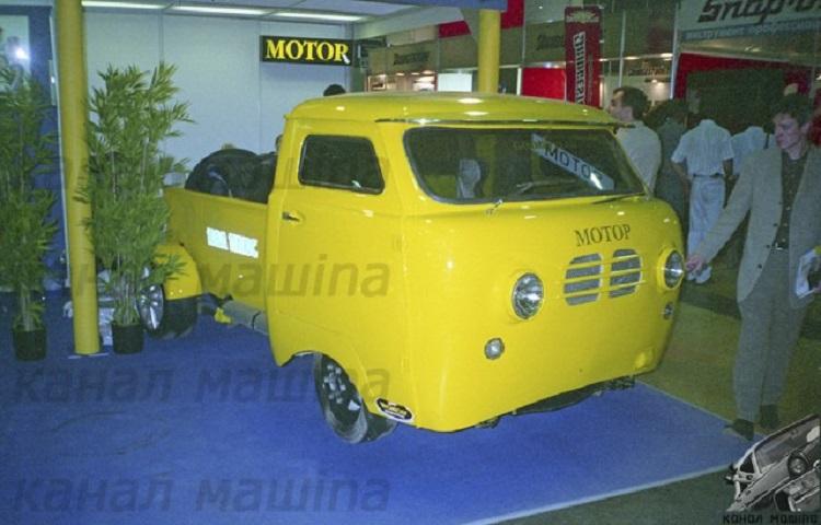Автомобиль Ивана Падерина