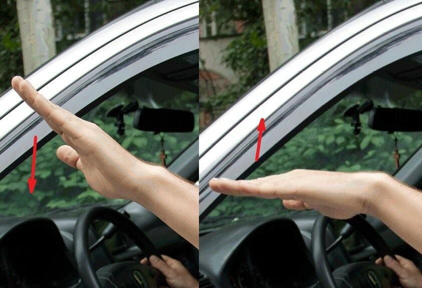 Хлопающее движение рукой