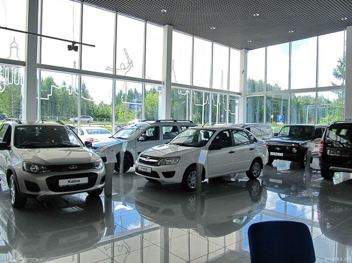 Автомобили в официальном сервисе Лада