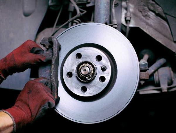 Металлический тормозной диск
