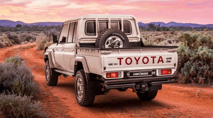 Toyota Namib 79 сзади