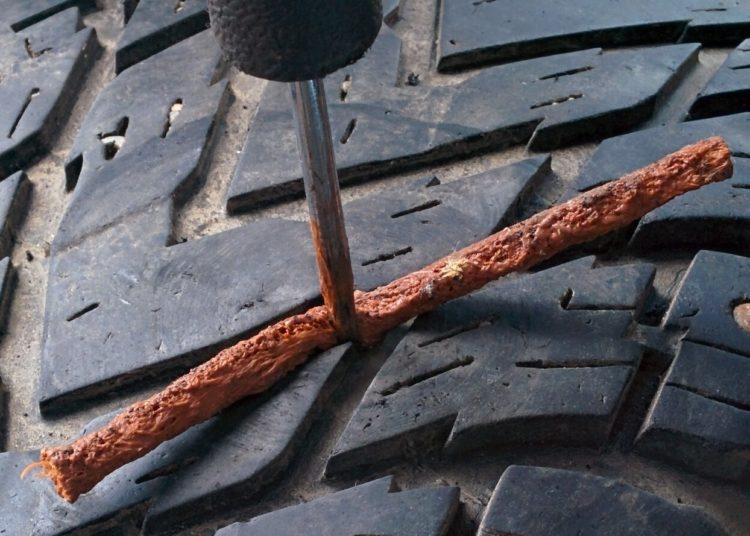Вкладывание жгута в шину