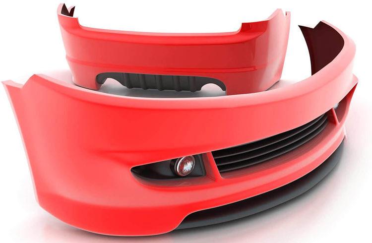 Красные бамперы для авто