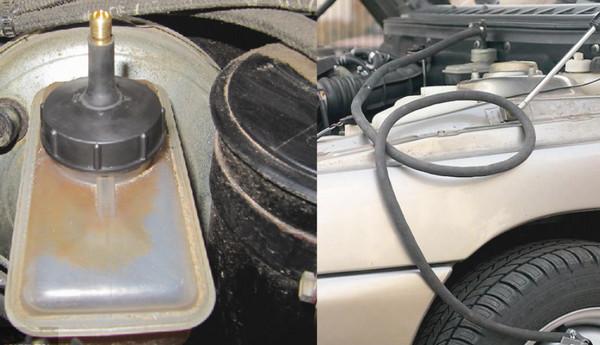 Прокачка тормозов с запасным колесом