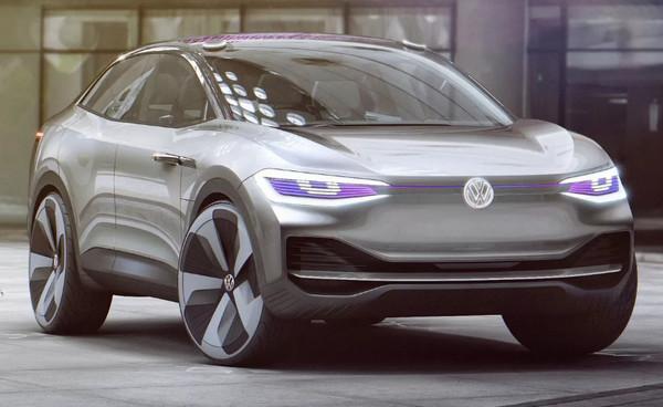 Электрический автомобиль Volkswagen I.D3