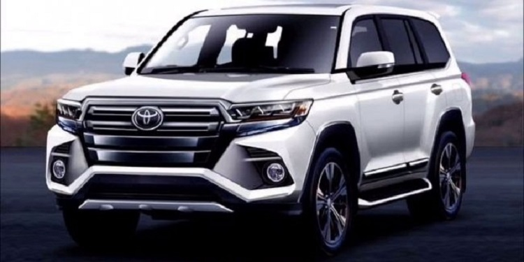 Toyota Land Cruiser в будущем