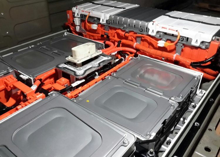 Ячейки АКБ электромобиля