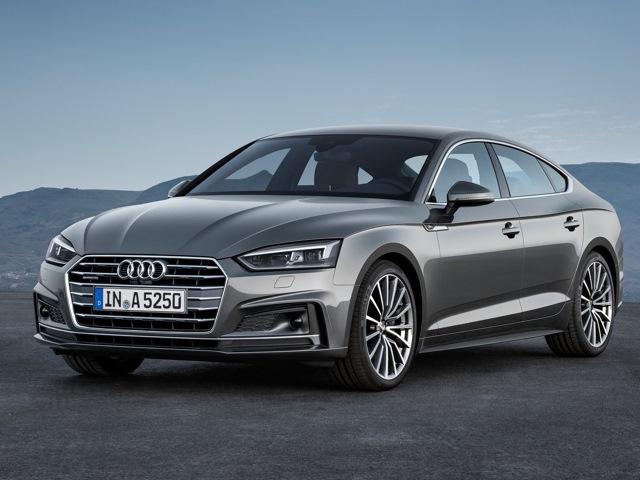 Серый Audi A5