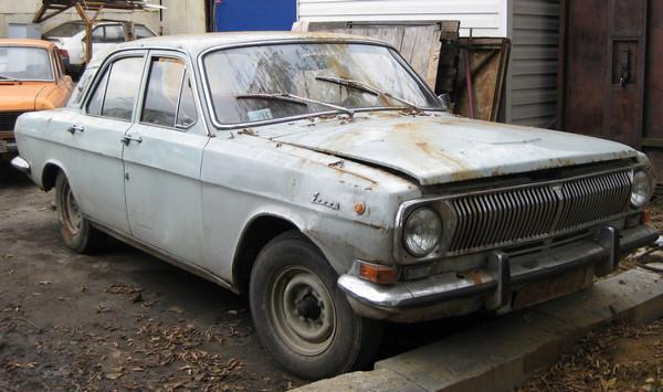 Старый ГАЗ-24