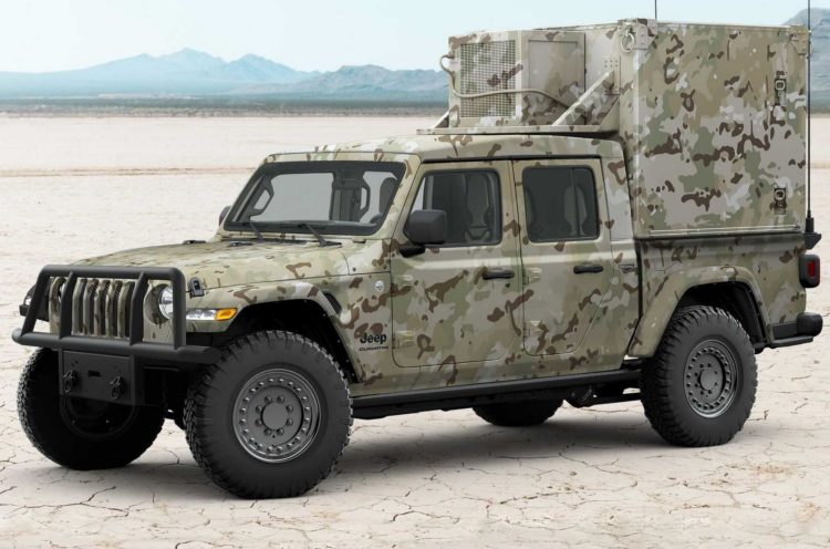 Jeep Gladiator хаки
