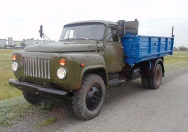 ГАЗ-53 после ремонта