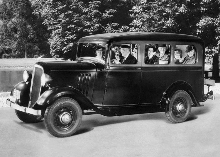 Chevrolet Suburban 1935 года