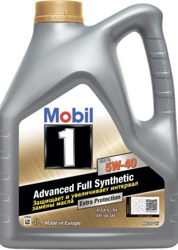 Моторное масло 5W-40 Mobil