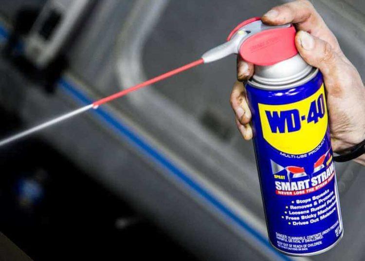 Распыление WD-40