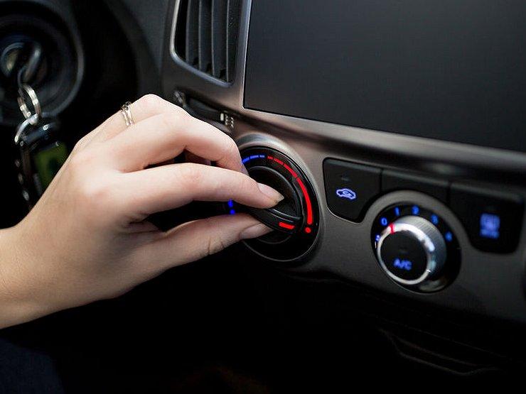 Регулятор нагрева печки авто