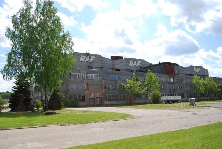 Здание завода РАФ