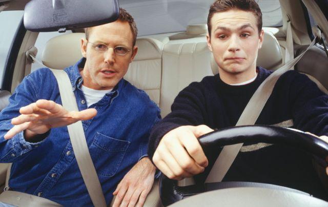 Водитель и инструктор