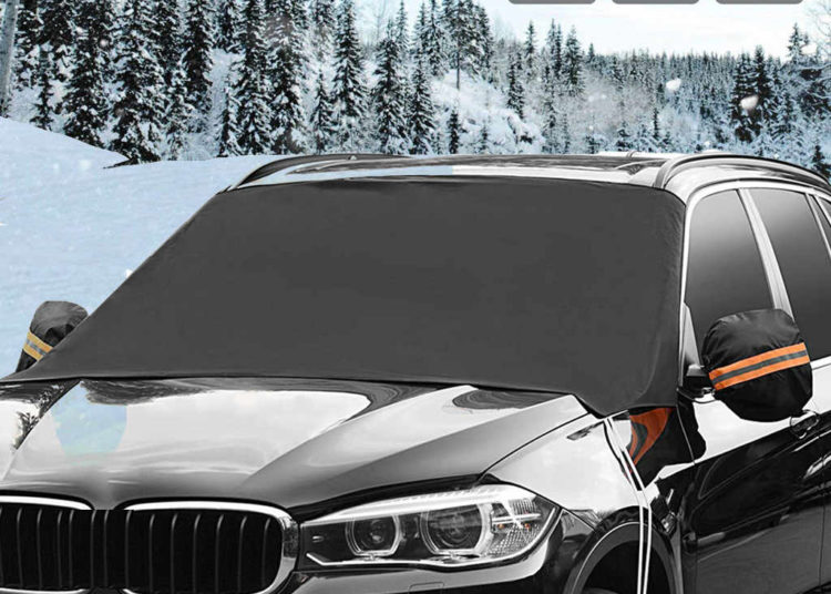 Защита на стекла авто зимой