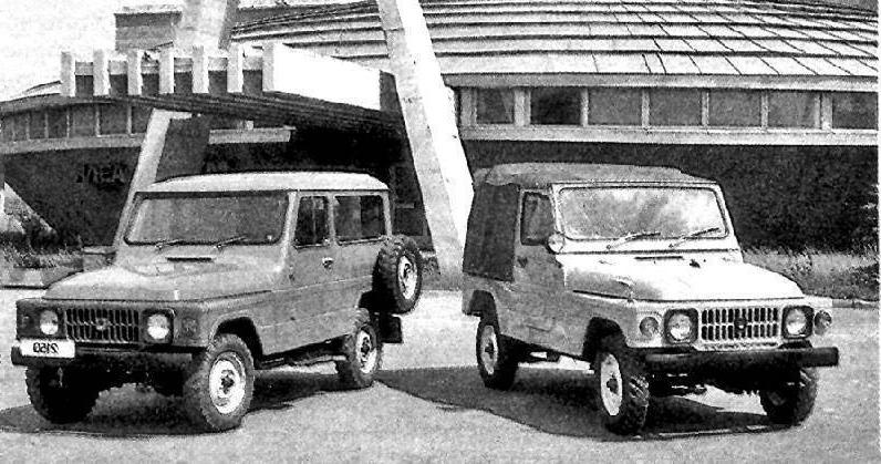Внедорожники Москвич-2148 и 2150