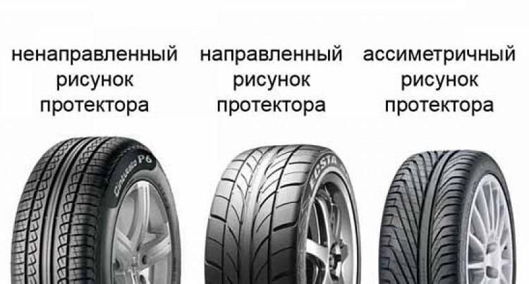 Виды протекторов шин
