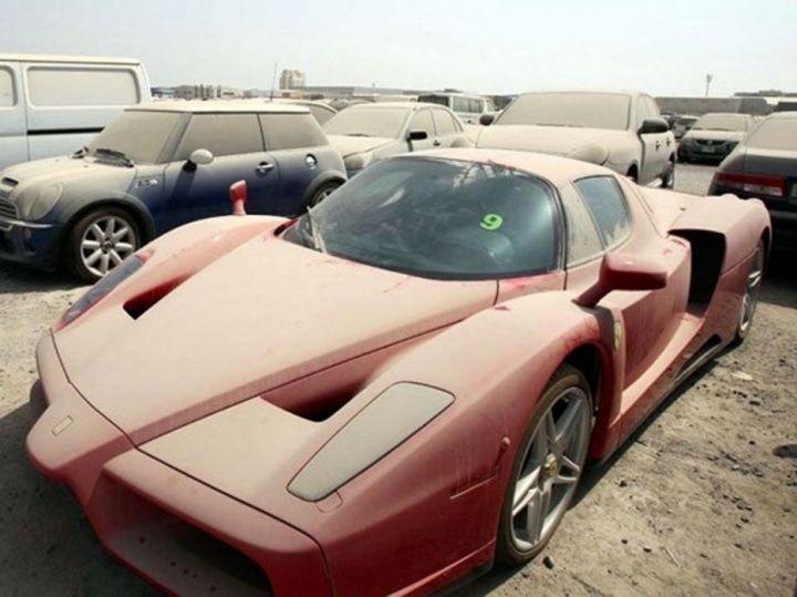 Кладбище машин в Эмиратах