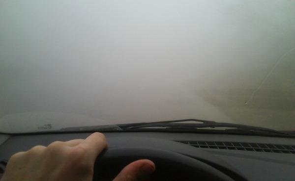 Туман в лобовом стекле