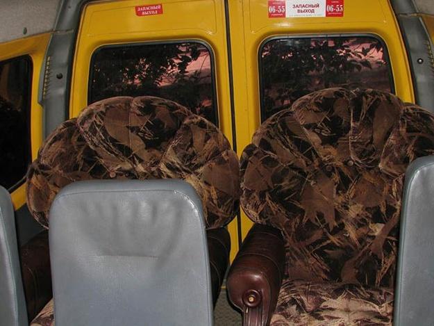 Домашние кресла в маршрутке