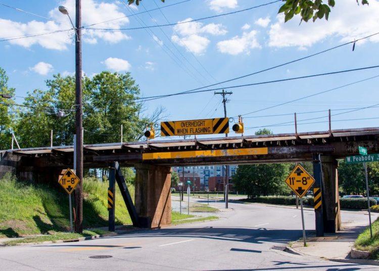 Мост в в Северной Каролине