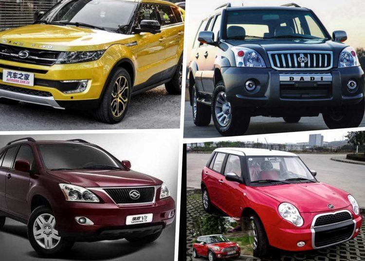 Популярные китайские марки авто
