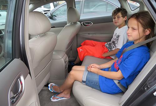 Дети 12 лет и ремни безопасности