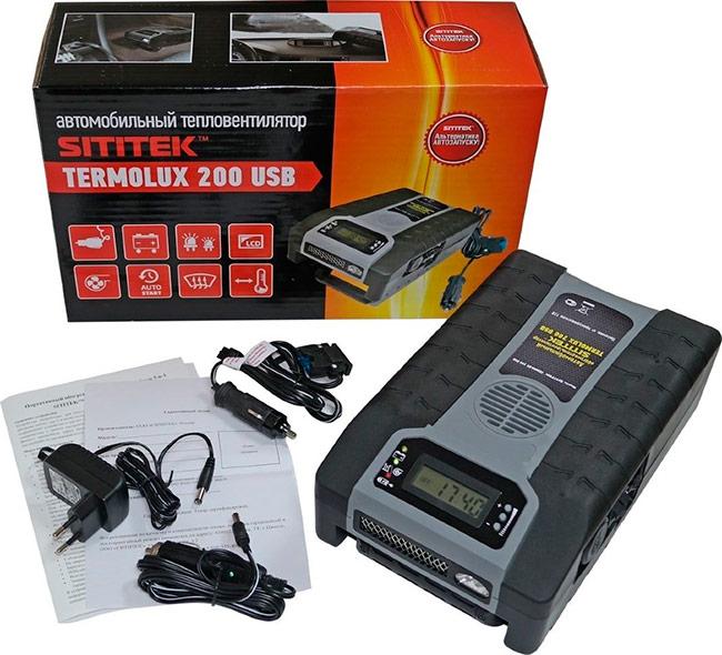 Автопечка SITITEK Termolux-200 USB