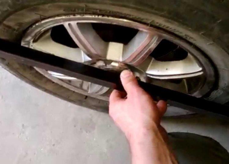 Замер диска колеса