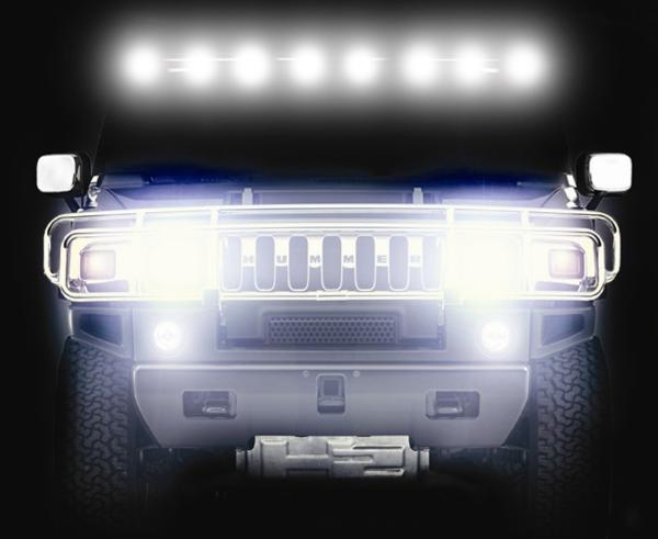 Нестандартное освещение авто