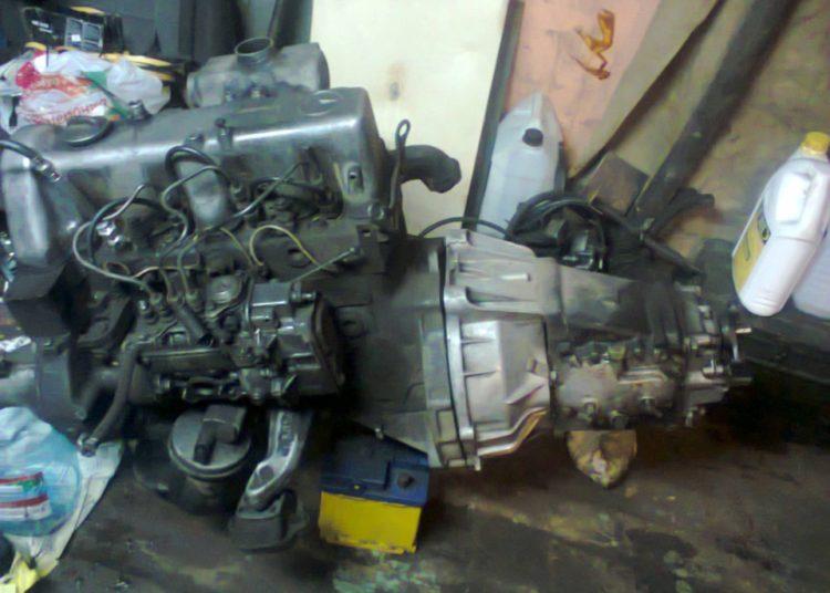 Дизельный мотор для УАЗ