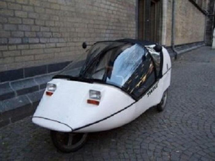 Немецкое авто Twike