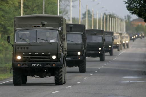 Военный грузовой транспорт