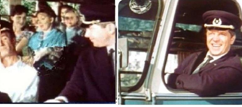 Автобус из Королевы бензоколонки