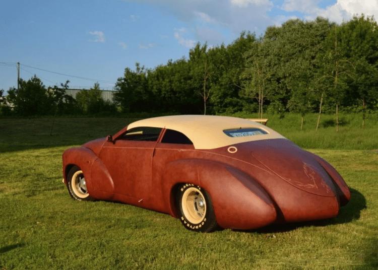 Кожаное авто Амулет