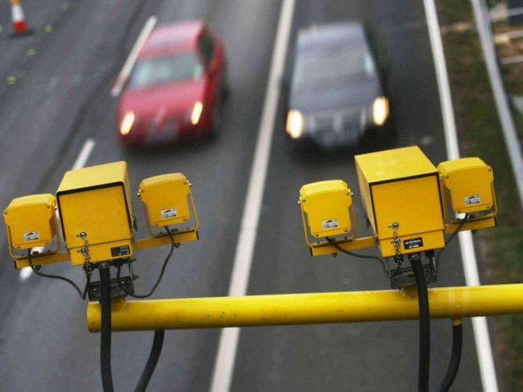 Камеры снимают дорогу
