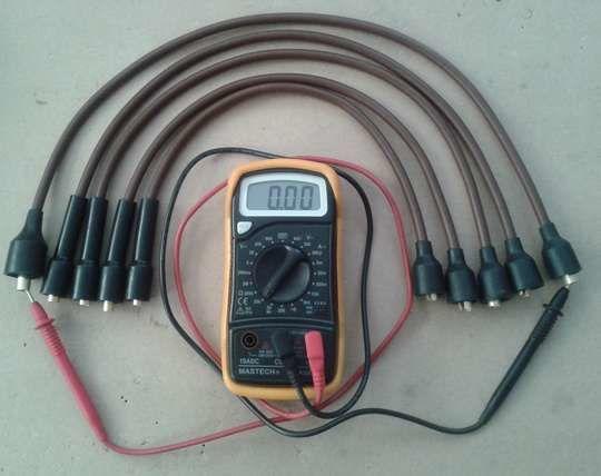Провода и омметр