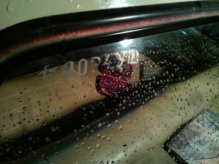 Маркировка вин-кода на стекле авто