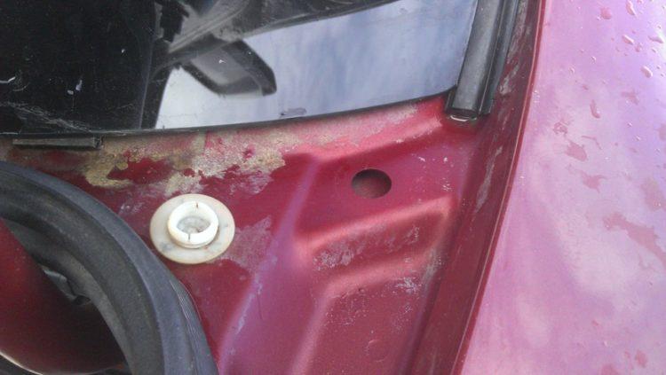 Заглушки на багажнике