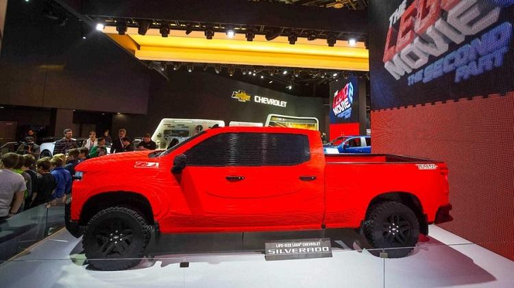 Chevrolet Silverado из конструктора