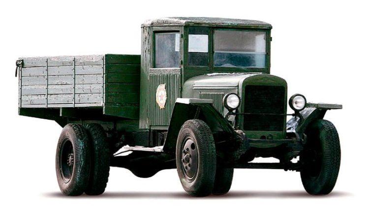 ЗИС-5 с деревянным кузовом