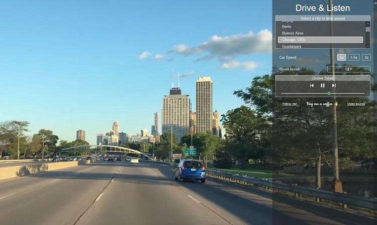 Дорога города Чикаго