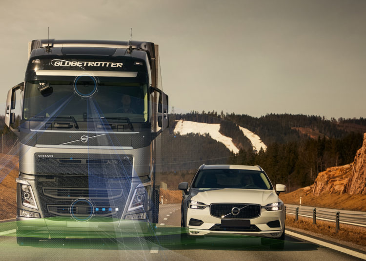 Volvo Dynamic Steering на трассе
