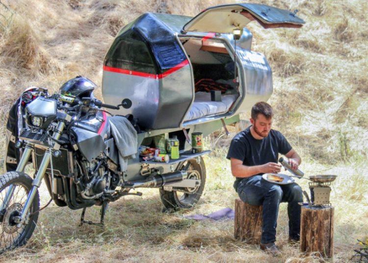 Мотодом на колесах Джереми Кармэн